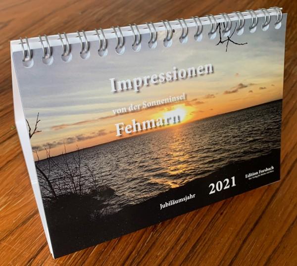 Tischkalender Impressionen von der Sonneninsel Fehmarn – im Jubiläumsjahr 2021