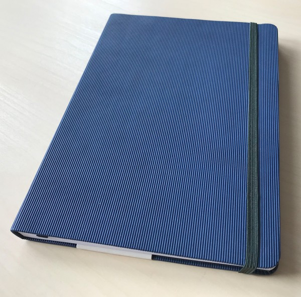 Notizbuch DIN A5 blau