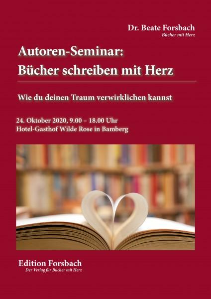 Autoren-Seminar: Bücher schreiben mit Herz