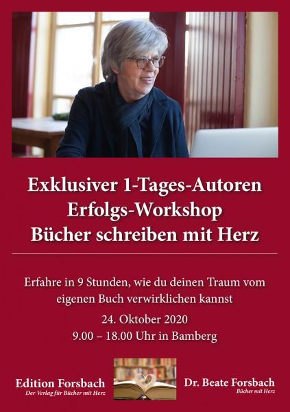 1-Tages-Autoren-Erfolgs-Workshop: Bücher schreiben mit Herz