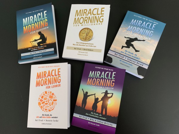 Bundle: Miracle Morning für Millionäre, Autoren, Unternehmer, Eltern & Lehrer
