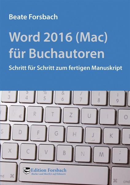 Word 2016 (Mac) für Buchautoren